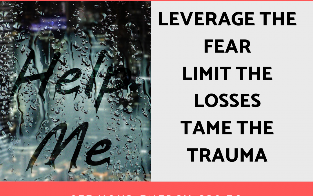 Leverage the Fear, Limit the Losses, and  Tame the  Trauma