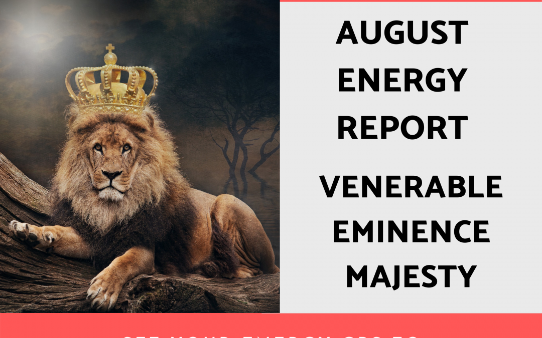August 2021 Energy Report